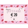 GIFTCARD 20 EURO