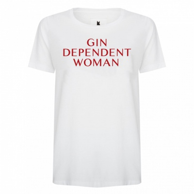 GIN DEPENDENT WOMAN WHITE