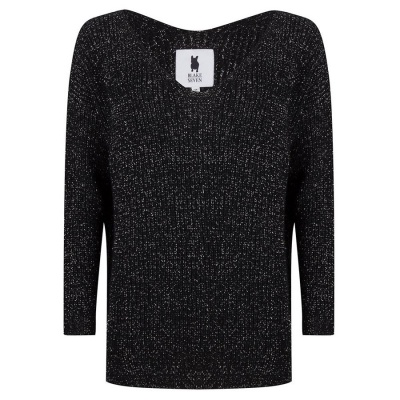 GLOOM KNIT - BLACK/SILVER