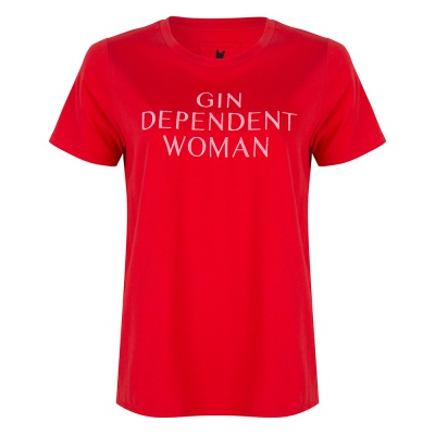 GIN DEPENDENT WOMAN RED
