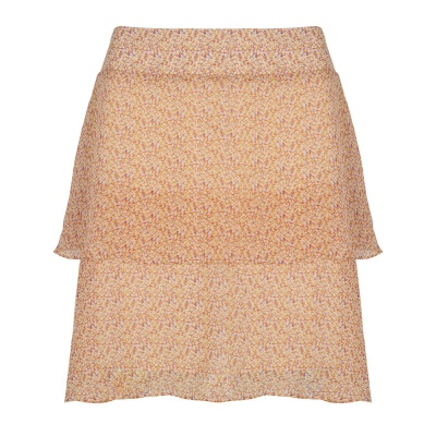 POPPY ORANGE SKIRT